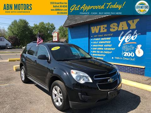 2011 Chevrolet Equinox for sale in Redford, MI