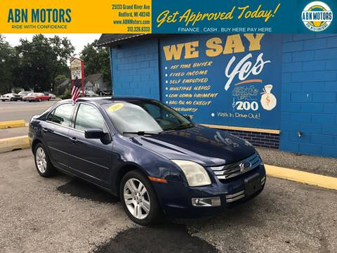 2006 Ford Fusion for sale in Redford, MI
