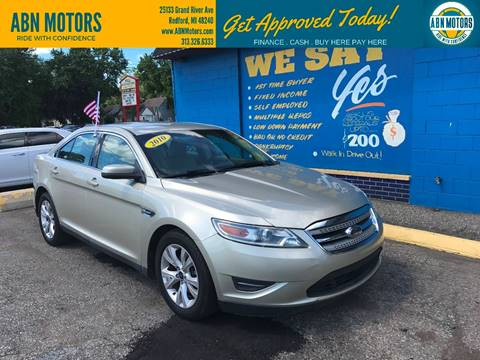 2010 Ford Taurus for sale in Redford, MI