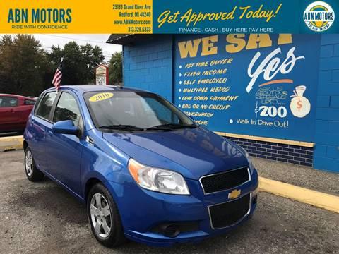 2010 Chevrolet Aveo for sale in Redford, MI