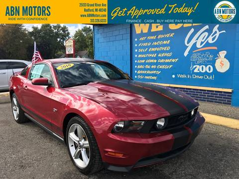 2010 Ford Mustang for sale in Redford, MI