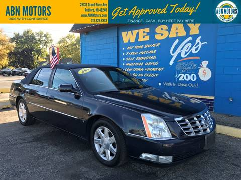 2006 Cadillac DTS for sale in Redford, MI