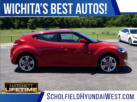 2017 Hyundai Veloster for sale in Wichita KS