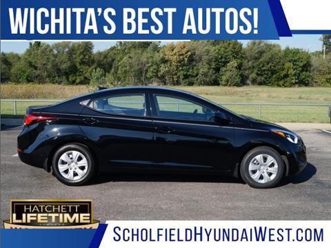 2016 Hyundai Elantra for sale in Wichita KS