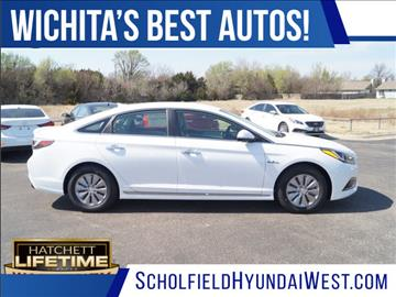 2017 Hyundai Sonata Hybrid for sale in Wichita, KS