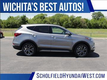 2017 Hyundai Santa Fe Sport for sale in Wichita, KS