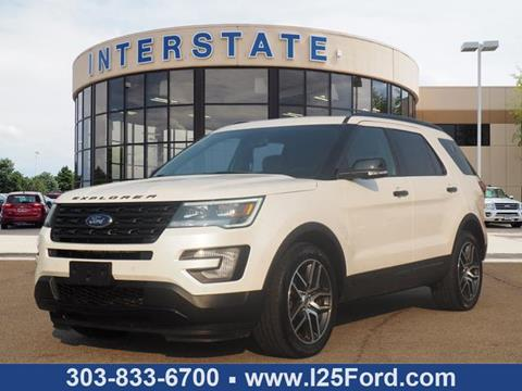 2017 Ford Explorer for sale in Dacono, CO