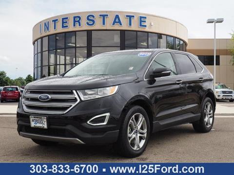 2017 Ford Edge for sale in Dacono, CO