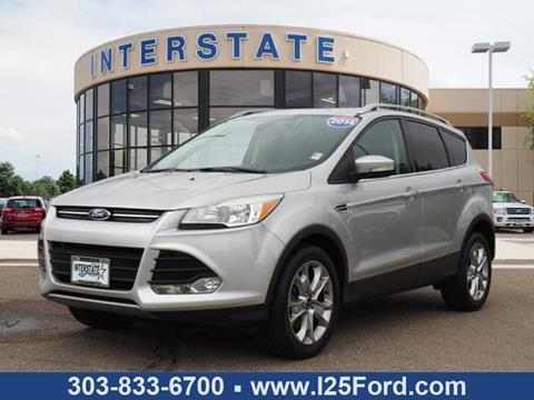 2014 Ford Escape for sale in Dacono, CO