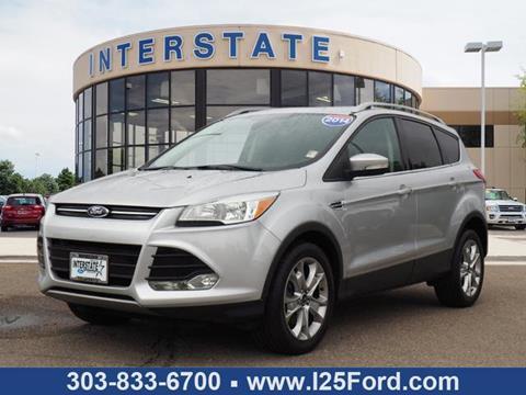 2014 Ford Escape for sale in Dacono, CO