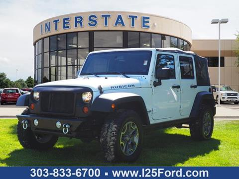 2011 Jeep Wrangler Unlimited for sale in Dacono, CO