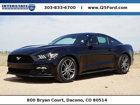 2017 Ford Mustang for sale in Dacono, CO