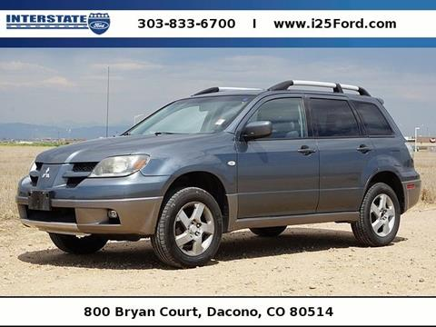 2004 Mitsubishi Outlander for sale in Dacono, CO