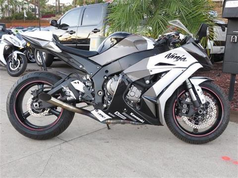 2012 Kawasaki Ninja ZX-10R for sale in Vista, CA