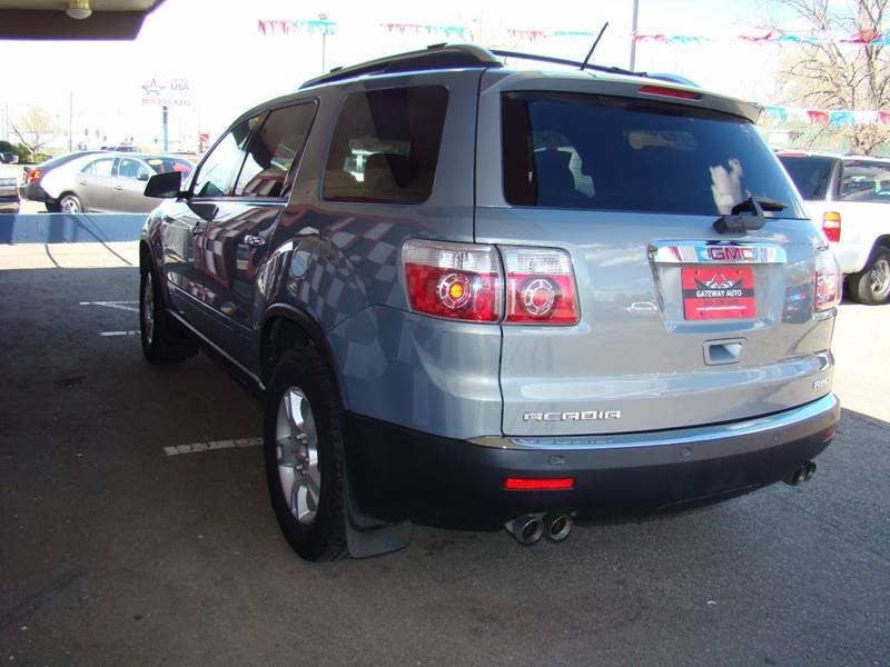 2007 GMC Acadia for sale at GATEWAY AUTO in Lakewood CO