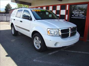 2008 Dodge Durango for sale at GATEWAY AUTO in Lakewood CO