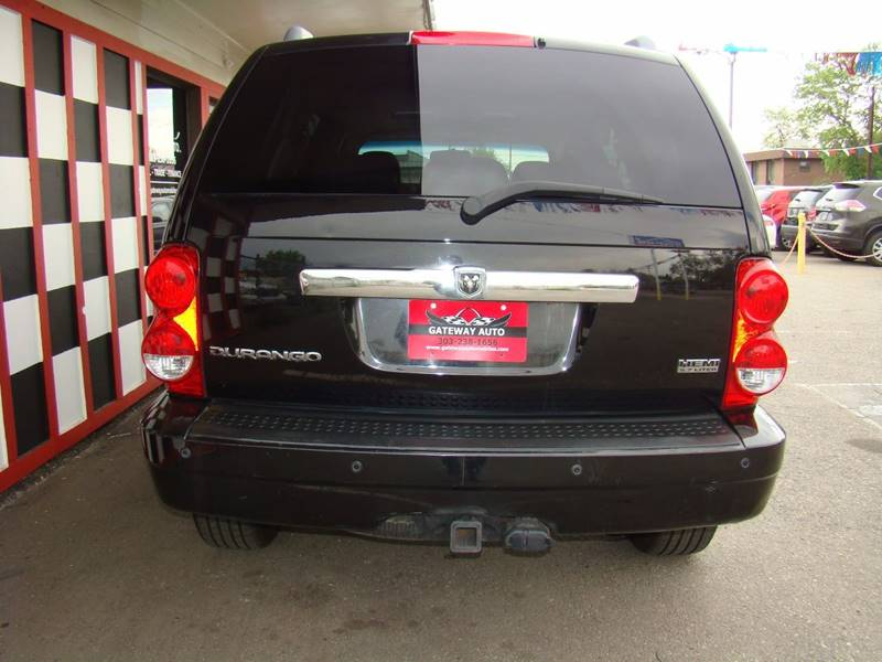 2007 Dodge Durango for sale at GATEWAY AUTO in Lakewood CO