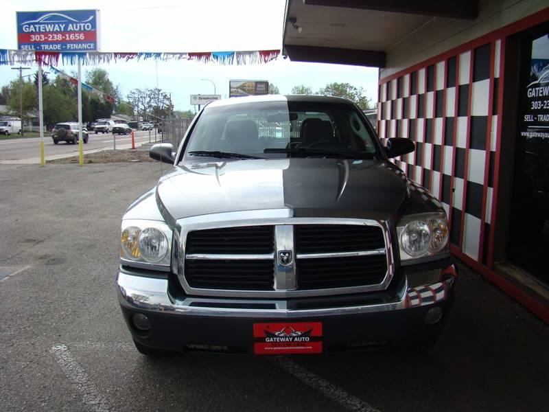 2005 Dodge Dakota for sale at GATEWAY AUTO in Lakewood CO