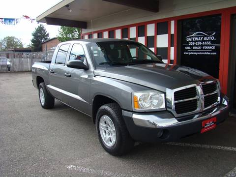 2005 Dodge Dakota for sale at GATEWAY AUTO in Lakewood CO