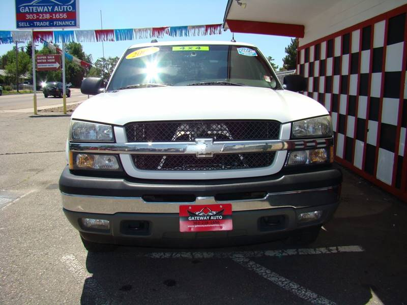 2005 Chevrolet Silverado 1500 for sale at GATEWAY AUTO in Lakewood CO
