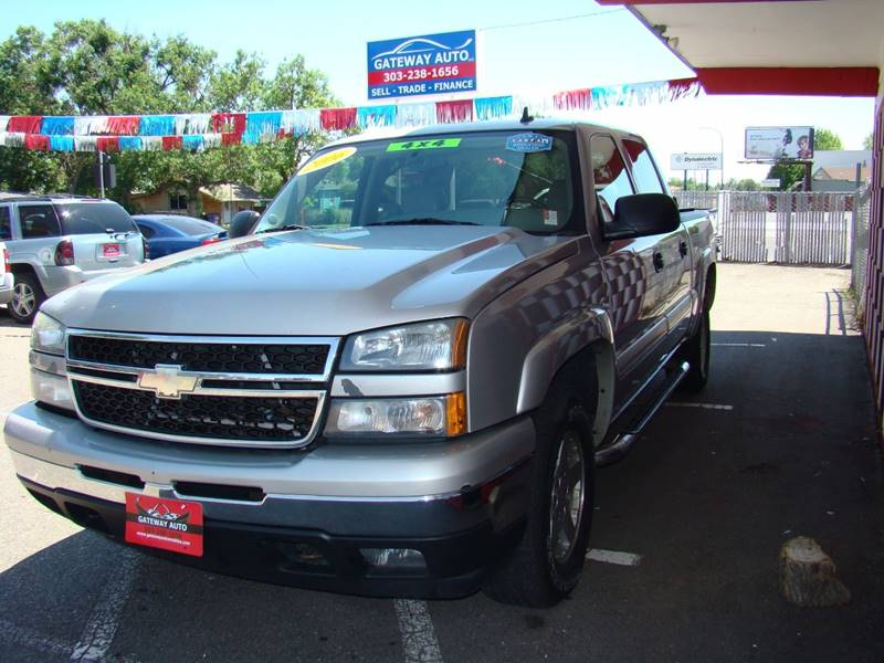 2006 Chevrolet Silverado 1500 for sale at GATEWAY AUTO in Lakewood CO