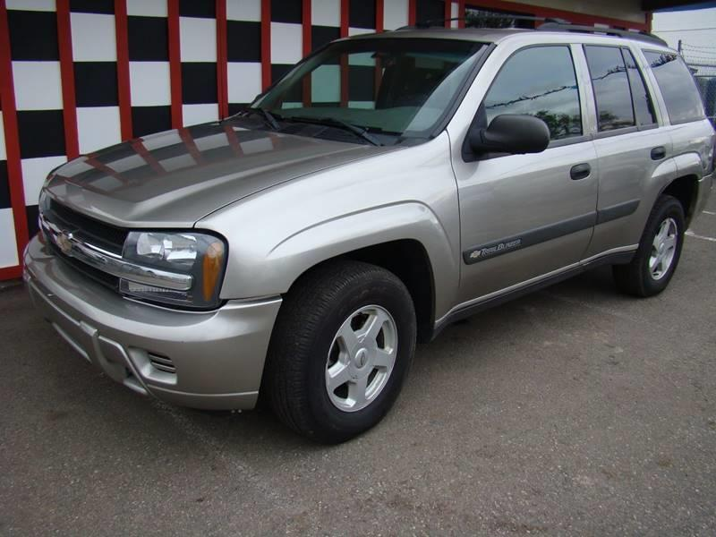 2003 Chevrolet TrailBlazer for sale at GATEWAY AUTO in Lakewood CO