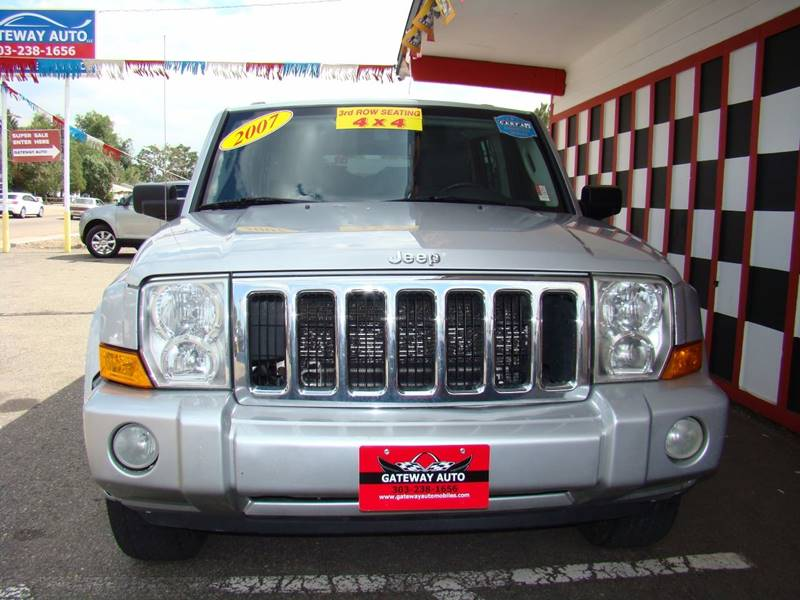 2007 Jeep Commander for sale at GATEWAY AUTO in Lakewood CO
