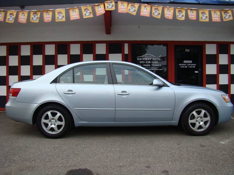 2006 Hyundai Sonata for sale at GATEWAY AUTO in Lakewood CO