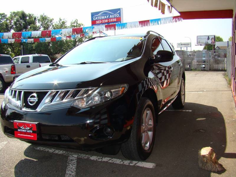2009 Nissan Murano for sale at GATEWAY AUTO in Lakewood CO