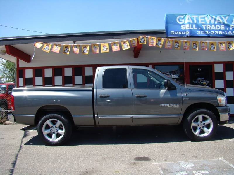 2006 Dodge Ram Pickup 1500 for sale at GATEWAY AUTO in Lakewood CO