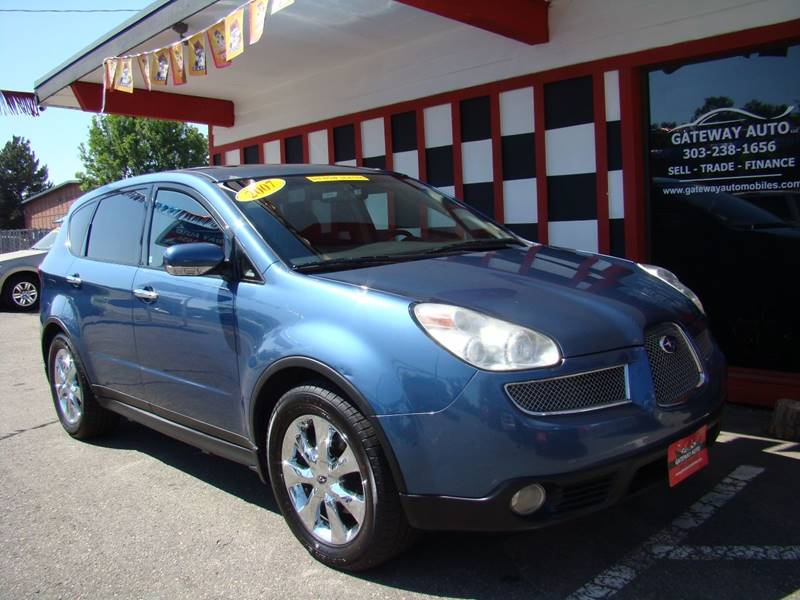 2007 Subaru B9 Tribeca for sale at GATEWAY AUTO in Lakewood CO