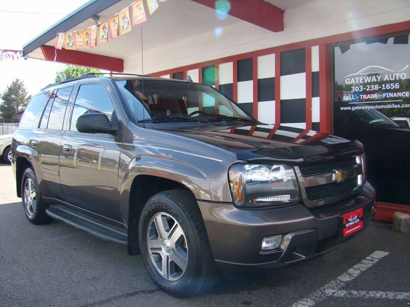 2008 Chevrolet TrailBlazer for sale at GATEWAY AUTO in Lakewood CO