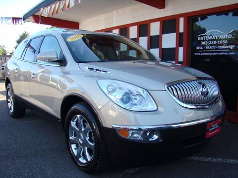 2008 Buick Enclave for sale at GATEWAY AUTO in Lakewood CO