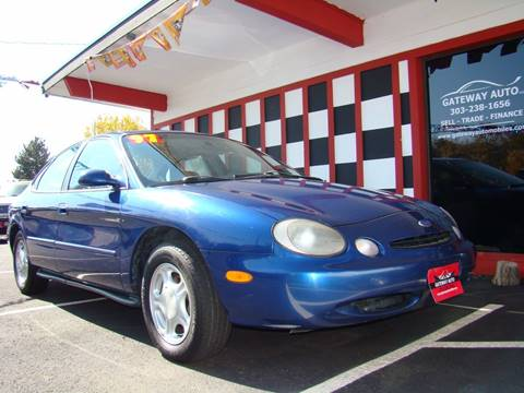 1997 Ford Taurus for sale at GATEWAY AUTO in Lakewood CO