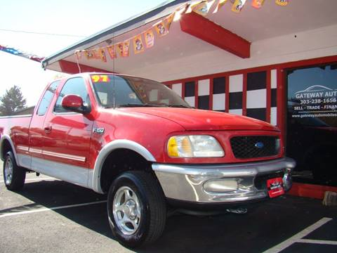 1997 Ford F-150 for sale at GATEWAY AUTO in Lakewood CO