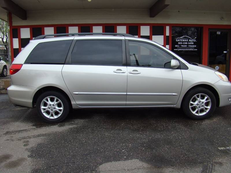 2005 Toyota Sienna for sale at GATEWAY AUTO in Lakewood CO