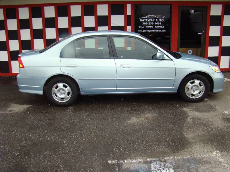 2005 Honda Civic for sale at GATEWAY AUTO in Lakewood CO