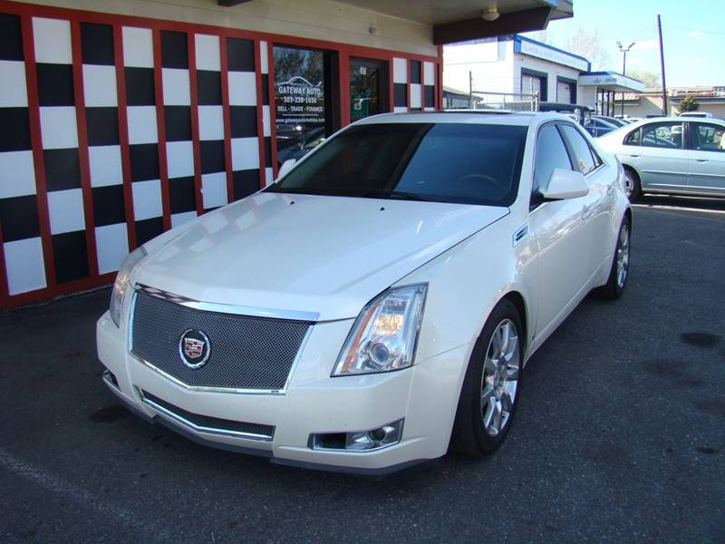 2009 Cadillac CTS for sale at GATEWAY AUTO in Lakewood CO