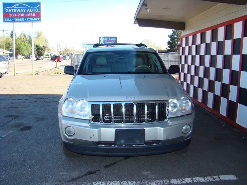 2006 Jeep Grand Cherokee for sale at GATEWAY AUTO in Lakewood CO