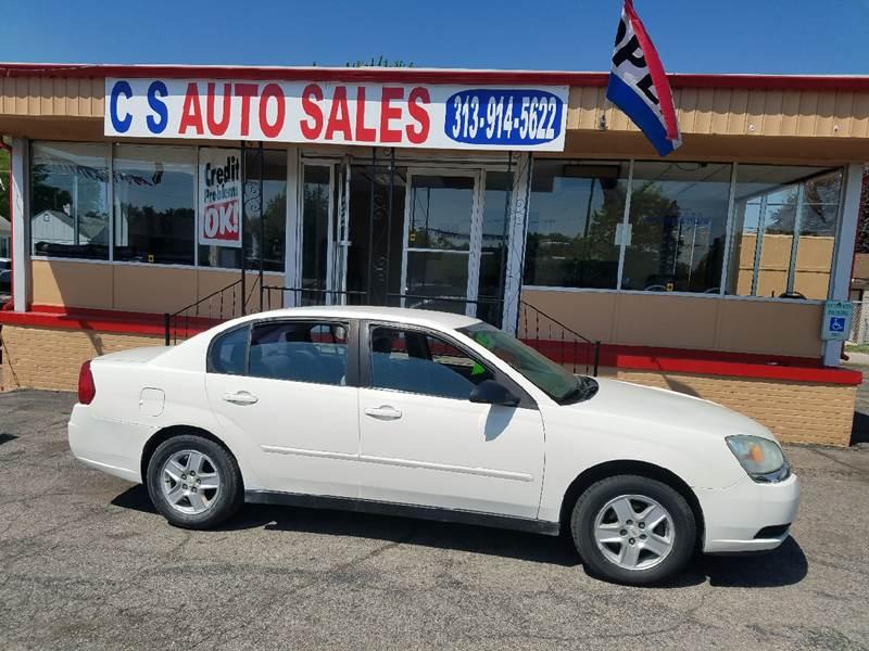Chevrolet Malibu LS In Lincoln Park MI CS Auto Sales - Chevrolet lincoln