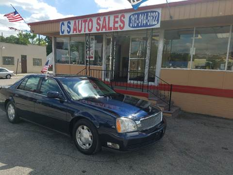 2005 Cadillac DeVille for sale in Lincoln Park, MI