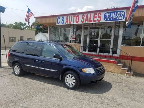 2006 Chrysler Town and Country for sale in Lincoln Park, MI