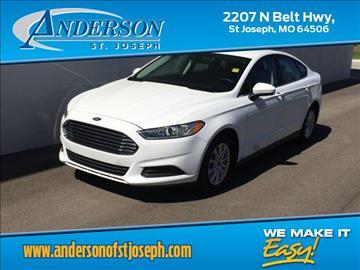 2016 Ford Fusion for sale in Saint Joseph, MO