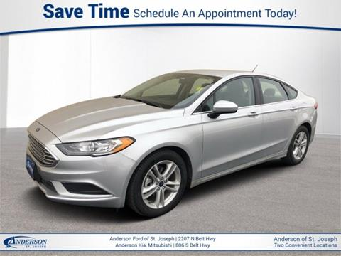 Ford Fusion St >> 2018 Ford Fusion For Sale In Saint Joseph Mo
