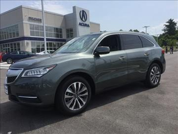 2016 Acura MDX for sale in Laurel, MD