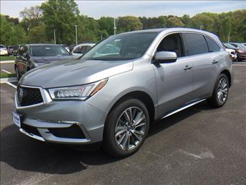 2017 Acura MDX for sale in Laurel, MD