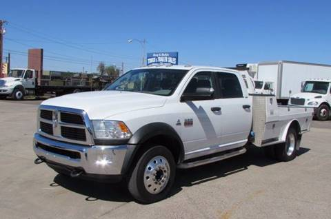 2012 Dodge RAM 4500 for sale at Ray and Bob's Truck & Trailer Sales LLC in Phoenix AZ
