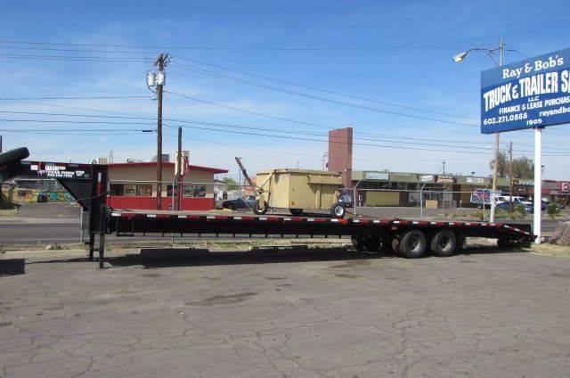 2015 Texas Pride Deckover Equipment Trailer 24K  - Phoenix AZ