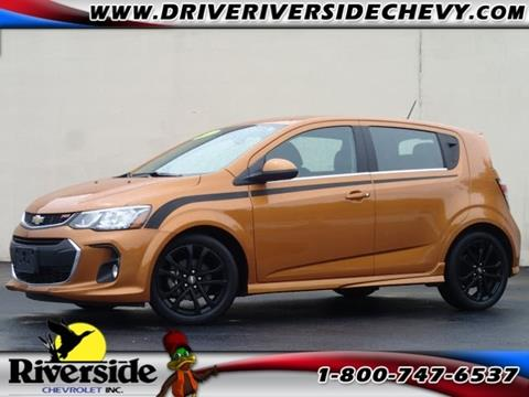 2017 Chevrolet Sonic for sale in Chillicothe IL