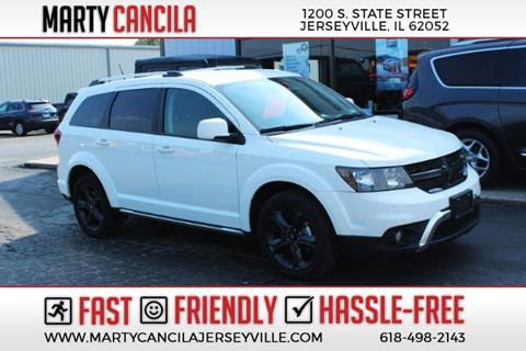 2018 Dodge Journey Crossroad for sale at Marty Cancila Chrysler Dodge Jeep Ram in Jerseyville IL